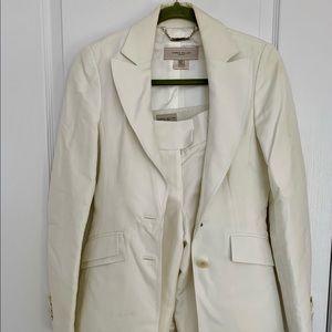 Karen Millen Classic White Suit Set